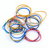 60% colors rubber band for money