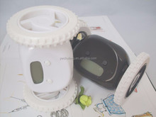 2015 new products Creative funny talling alarm clock Running alarm clock