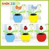 2015 Plastic dancing solar flower,cheap plastic flowers