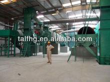 Fermentation process organic fertilizer products equipment
