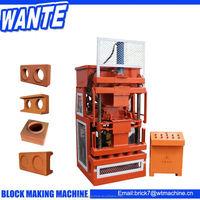 new automatic brick making machinery interlocking clay making block machineiry to make money