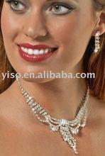 inspired rhinestone jewelry set