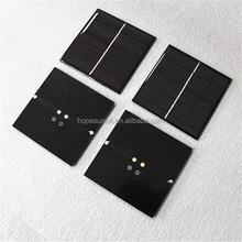 Customized mini solar panel 0.2w 0.3w 0.5w 1W 6V 2w solar panel