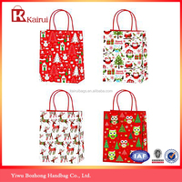 Fine appearance wholesale christmas gift paper bags cheap gift bags in bulk
