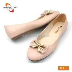 Metal bowknot fashion fair lady shoe