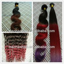 factory price human high feadback colored hair virgin brazilian weave