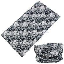 Wholesale Custom Head scarf Paisley Printed Polyester Neck Tube skull Bandana