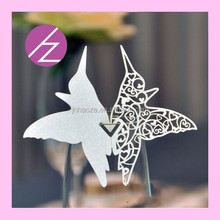 wedding party event table decoration wine card love bird JK65
