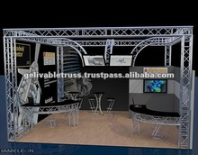 Truss Showcase,outdoor vertical banner stand,exhibition display