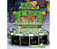 plants & zombies coin pusher opeprated arcade game machine