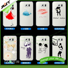 OEM service customized printed TPU mobile phone case for s6, for samsung accept custom order cell phone case