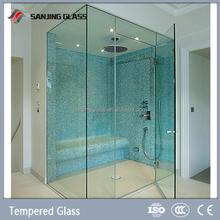 6mm sliding tempered glass shower enclosure