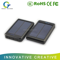new portable 20000 mAh solar power bank,mobile battery charger,real capacity solar charger
