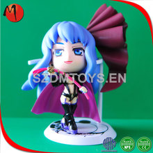 Movie character injection tooling plastic diy toy action figure