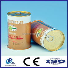Wholesale fashion design metal round food tin can