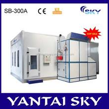 2015 alibaba China spray machine booth, auto spray paint machine, used body shop equipment