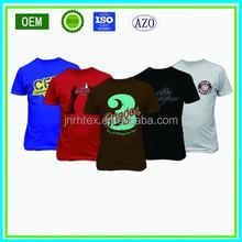 OEM cotton man tshirt, custom printed tshirts