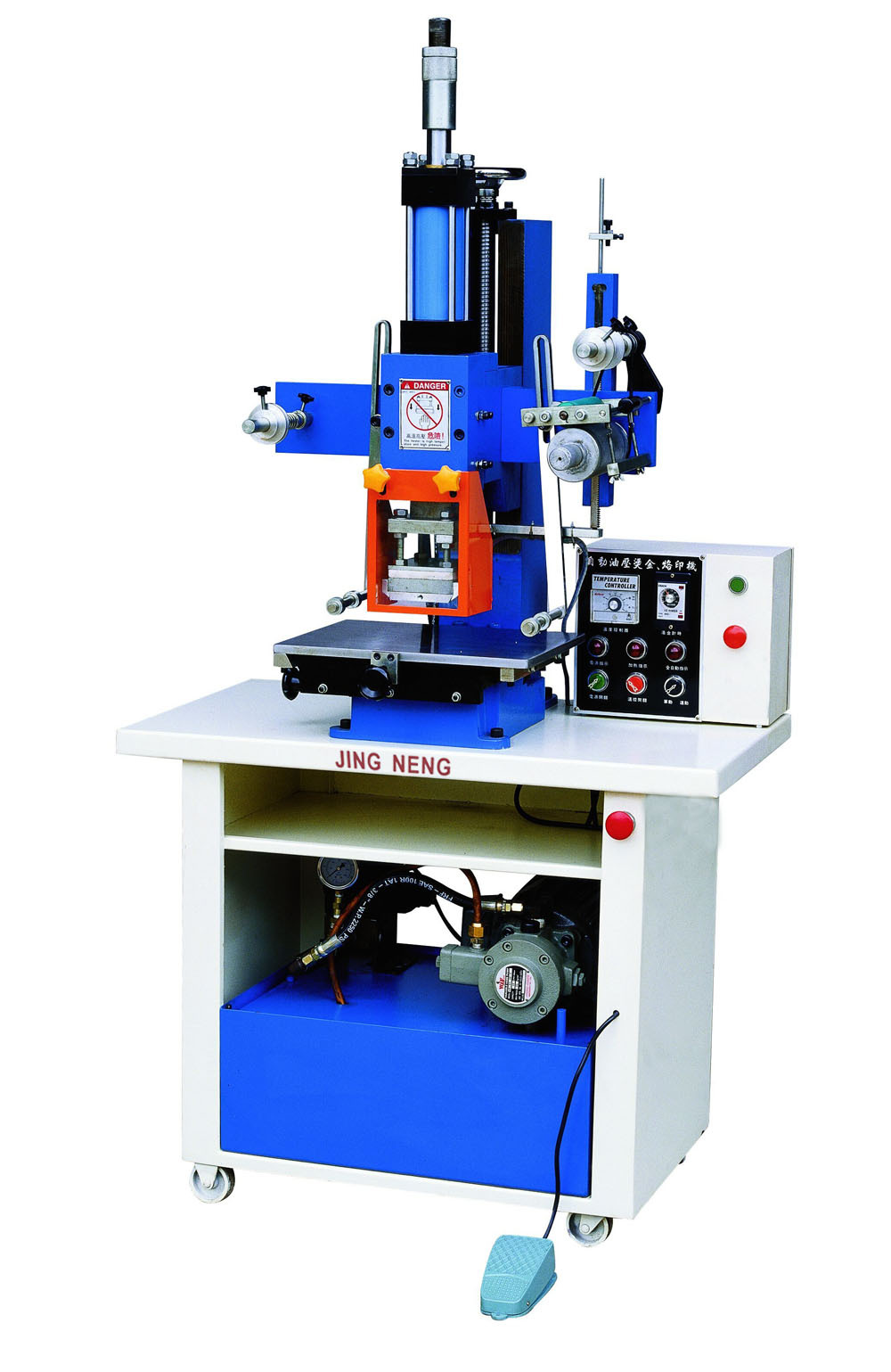 Hydraulic Leather/insole Stamping/embossing Machine - Buy ...