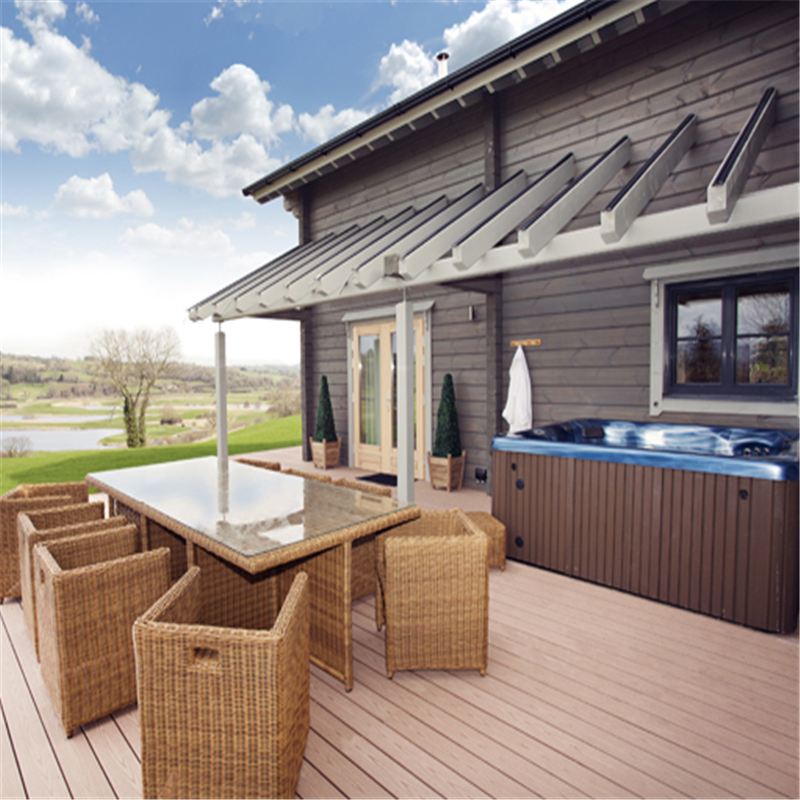 150x35x2900mm frstech plástico de madera piscina diseño, madera