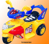 Kids Ride on 6V Motor tricycle Car Walker with Music and Light