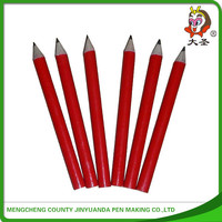 2015 personalized wood fancy pencils cartoon pencils with eraser top&mini color pencil set on top
