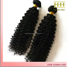 Queen like brazilian hair real tangle free afro kinky curly 20 inch virgin remy human hair weft
