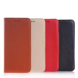 Litchi ultra thin leather cover for HTC One M9