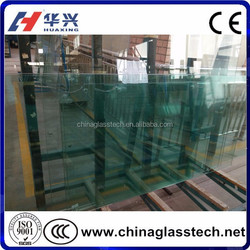 CE, ISO ,CCC Cut to Size Factory supply 12mm thick tempered safety glass