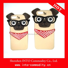 PUG Silicone Case For iPhone 5S/6