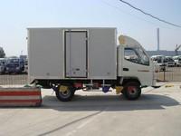 Single cab diesel engine mini van truck 1000kg