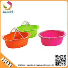 2015 competitive hot product plastic bucket with handle