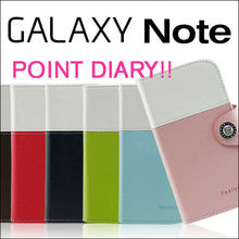 Samsung Galaxy Note i9220 GT-N7000 Feelook Point2 PU Leather Wallet Phone Case