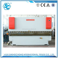 WC67Y-125/4000 CNC fully automatic blade bending machine