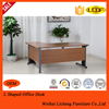 wooden office L shaped computer desks/office furniture table for sale