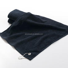 100% cotton terry embroidery golf towel