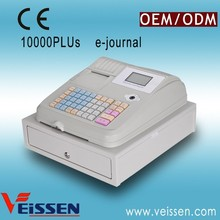 Black & white colors economic electronic cash register (factory)