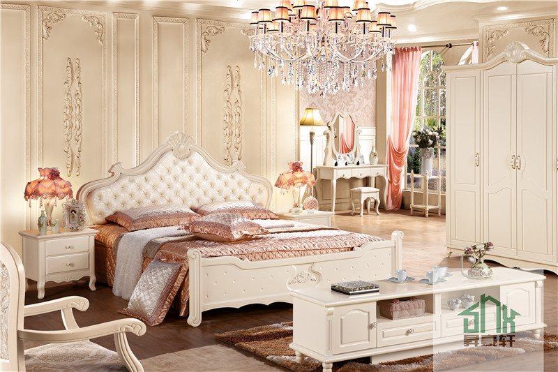 Chinese Factory Adult Bedroom Set Furniture Ha 821