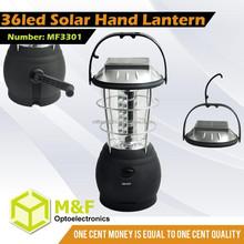 36led Solar Hand Cranking Dynamo Hurricane Lantern Large Moroccan Lantern
