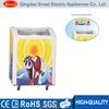 110V 60Hz sliding glass door freezer with top lamp