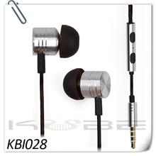 Mobile Phone Use high quality earphones with mic and volume control