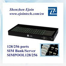 sim bank/pool/box 128/256 support imei changeable gsm gateway 16 channel 64 sims gsm gateway gsm modem sim bank voip internet ca