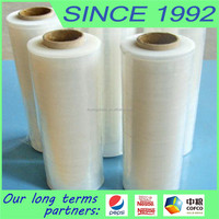 casting plastic lldpe stretch film for hand and machine use