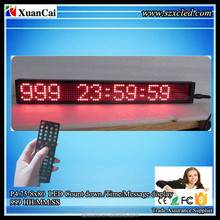 P4.75-8x80 Mini indoor Remote control Count down/Timer/Message 999 HH:MM:SS LED digital display