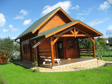 2015 hotest Prefabricated wood kids house log home factory direct sales