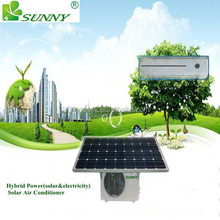 solar PV powered AC/Heat Pump units (DC powered & AC-DC hybrid solar air conditioners and heat pumps)