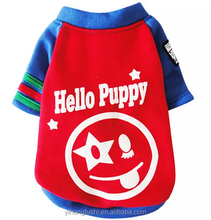 "Pet Dog Puppy Costume ""Hello Puppy"" T Shirt Small Dog Clothes Apparel Clothing For Winter"