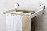 wall mounted flexible shower holder wall shelf