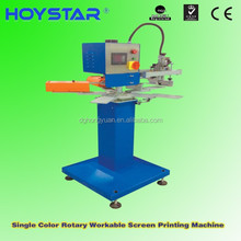 pp woven bag automatic screen printing machine for logo