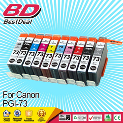 1:1 replacement for faulty cartridges color ink cartridge PGI-73 for Canon printer