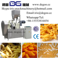 Hot sale Corn puff stick Cheetos Kurkure baking and drying plant 100-150kg/h